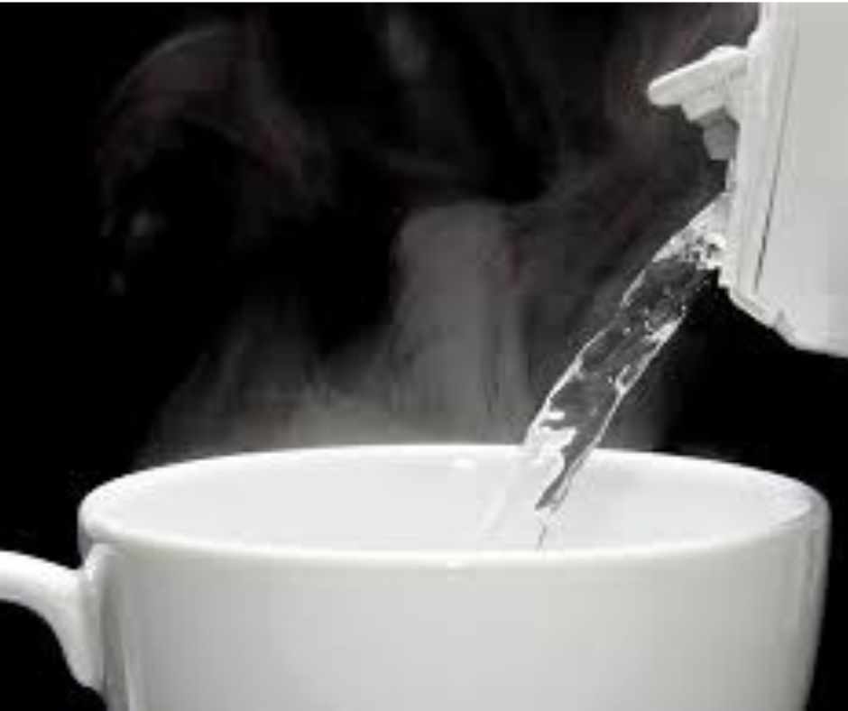 Use of Drinking Hot Water