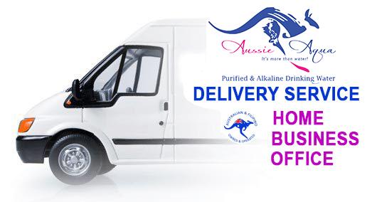 Aussie Aqua Delivery truck