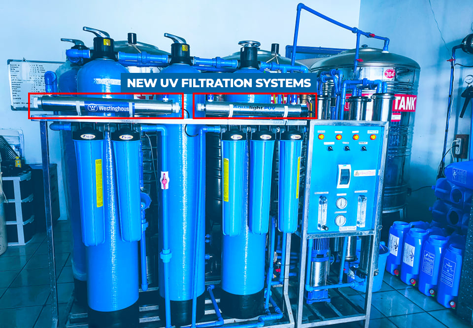Aussie Aqua filtration tanks